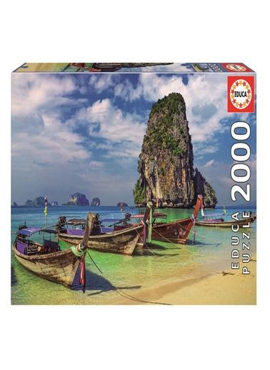 Educa Educa Puzzle 2000 Parça Krabi Thailand 18007 Renkli